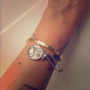 ALEX & ANI Pisces Bracelet